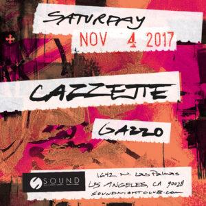 Sound Cazzette Gazzo November