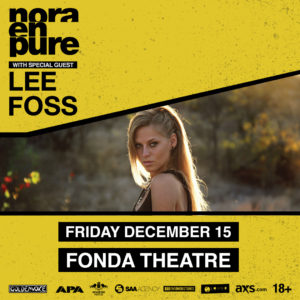 Nora En Pure Lee Foss Fonda Threatre Hollywood December