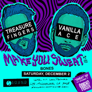Treasure Fingers Flyer Sound Nightclub 2017