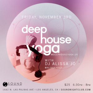 Deep House Yoga Fitness November Sound
