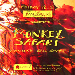 Monkey_Safari Framework Sound_Nightclub December