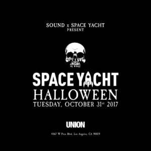 Spaceyacht Halloween Union