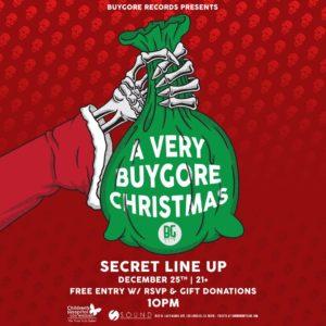 Buygore Christmas Sound_Nightclub December