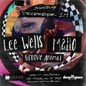 Lee_Wells Malio Groove_Animal Christmas_Eve Sound_Nightclub