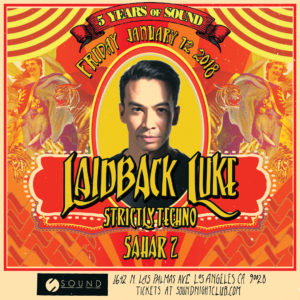Laidback_Luke Sound_Nightclub 5_Years_of_Sound Techno
