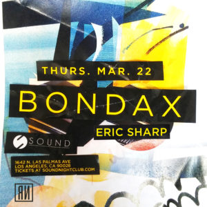Bondax Eric_Sharp Sound_Nightclub 2018