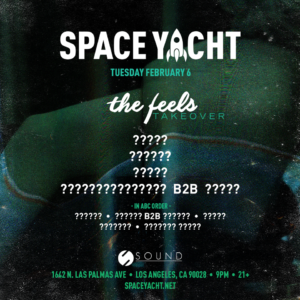 Space_Yacht Sound_Nightclub