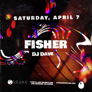 Fisher DJ_Dave Dirtybird Sound_Nightclub