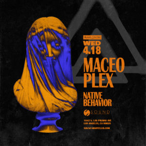 MACEO_PLEX 7_days_of_sound April 2018