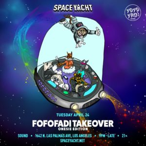 Space_Yacht April Fofofadi_Records Sound_Nightclub