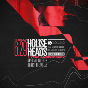 House Heads sound_nightclub June 2018