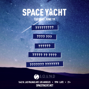space yacht sound_nightclub june 2018