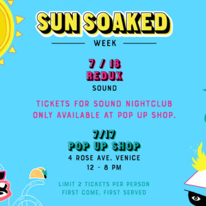 kaskade redux sunsoaked july 2018 sound_nightclub
