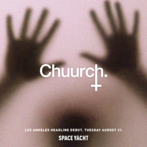 chuurch sound_nightclub space yacht 2018 august