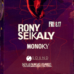 rony seikaly sound_nightclub august 2018
