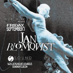 Jan Blomqvist Sound_nightclub september 2018