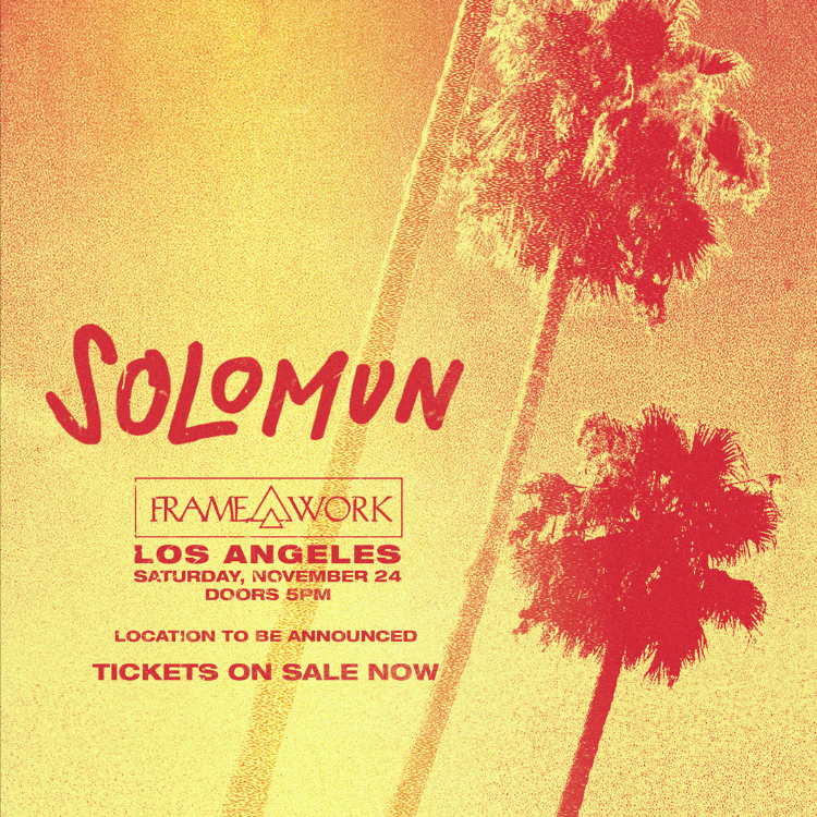 solomun los angeles november 2018
