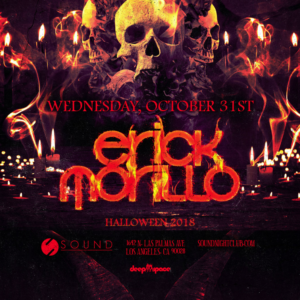 erick morillo halloween sound_nightclub 2018