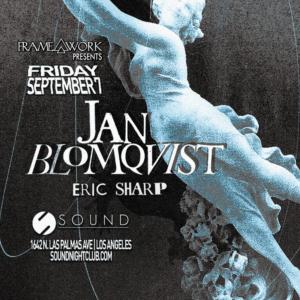 Jan Blomqvist Eric Sharp sound_nightclub september 2018