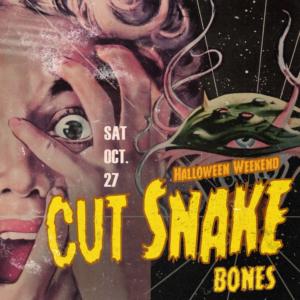 cut snake bones halloween weekend sound nightclub october 2018