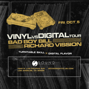 bad boy bill richard vission october 2018 vinyl digital tour