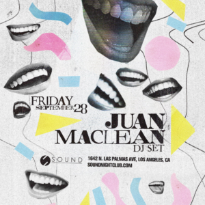 juan maclean sound_nightclub september 2018