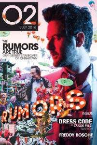O2 Magazine July Cover Sound Nightclub