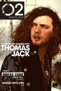 O2 Magazine August Cover Sound Nightclub
