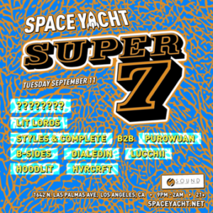 space yacht september 2018