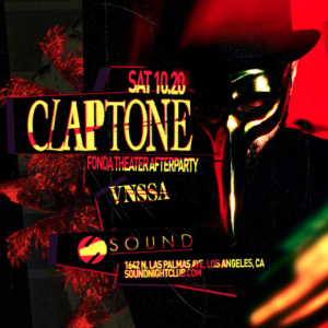 Claptone Masquerade Official Afterparty Sound Nightclub October 2018
