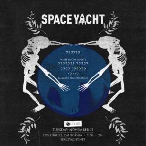 space yacht november 2018 sound nightclub