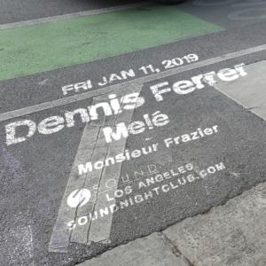 Dennis Ferrer Melé Monsieur Frazier Sound Nightclub January 2019