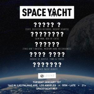 space yacht 4 year anniversary sound nightclub january new years day 2019