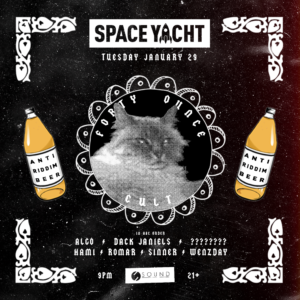 space yacht sound january sound nightclub 2019