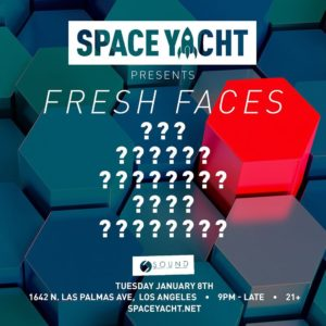 space yacht fresh faces sound nightclub january 2019