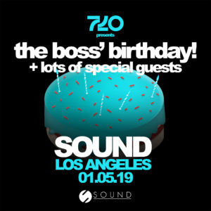 Birthday Party Sound Nightclub January 2019