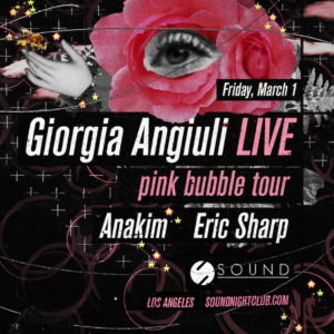 giorgia angiuli live sound nightclub anakim eric sharp february 2019