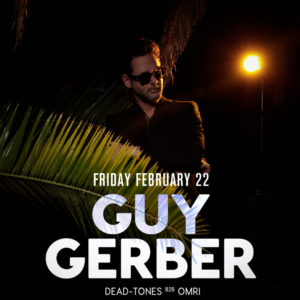 guy gerber sound nightclub february 2019