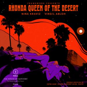 rhonda queen of the desert nina kraviz virgil abloh