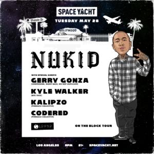 sound nightclub nukid gerry gonza kyle walker kalipzo codered space yacht may 2019