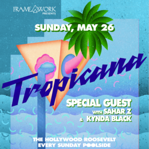 framework tropicana pool party sahar z kynda black roosevelt pool party