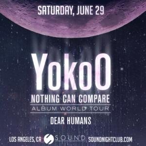 YokoO sound nightclub dear humans june 2019