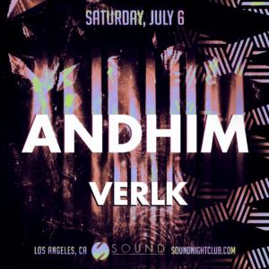 andhim verlk sound nightclub july 6 2019