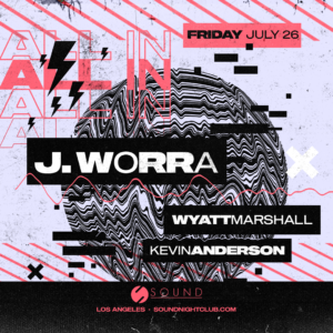 J Worra Wyatt Marshall Kevin Anderson Sound June 2019