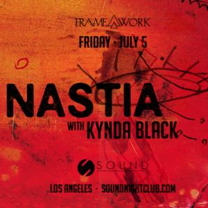 framework sound nightclub nastia kynda black july 2019