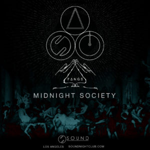 fangs midnight society july 2019 sound nightclub
