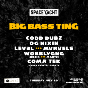 Space Yacht Big Bass Ting