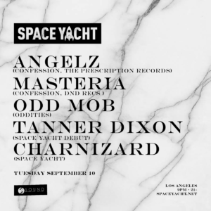 Space Yacht Angelz September 2019 Sound Nightclub Los Angeles