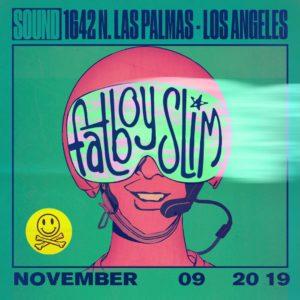 Fatboy Slim Sound Nightclub November 9 2019
