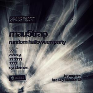mau5trap space yacht sound nightclub october 2019 random halloween party